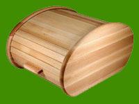Хлебница деревянная цвет натуральный